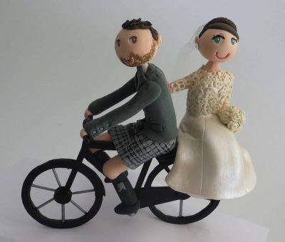 Customised handmade Wedding Cake Toppers