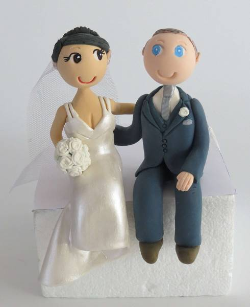 Personalised,handmade,Bride & Groom,Wedding,Cake Toppers