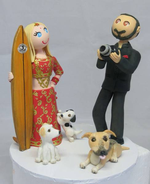Bride & Groom,Wedding,Cake Toppers Personalised,custom,handmade