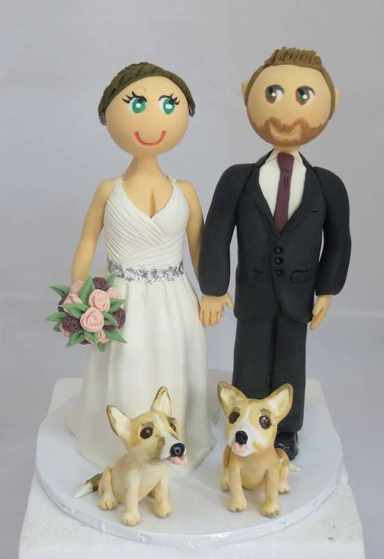 Bride & Groom,Wedding,Cake Toppers Personalised,custom,handmade