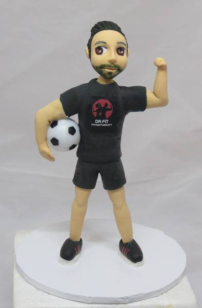 Male Figurine Cake Topper