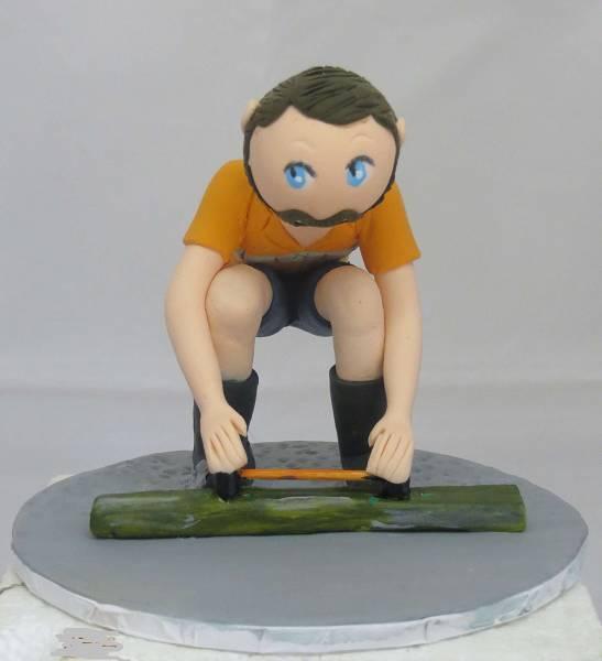 Concretor Cake Topper